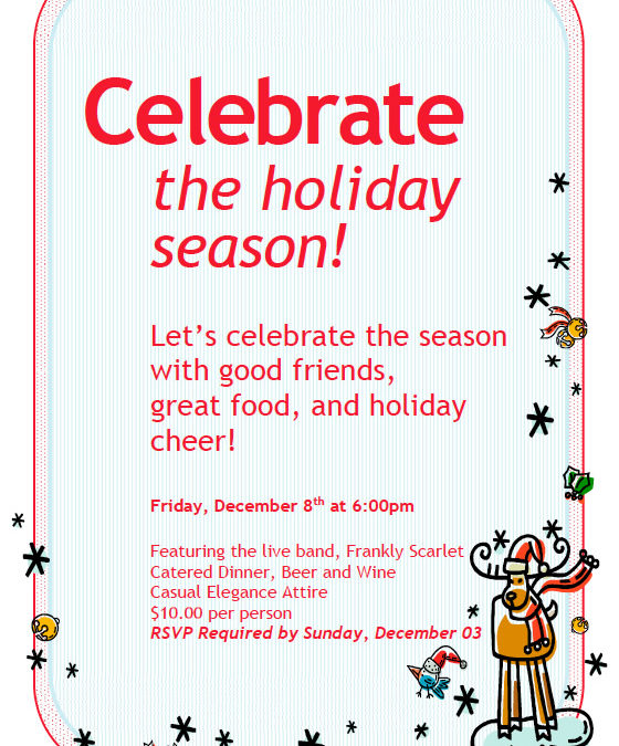 Join Us for Our Annual Holiday Party!