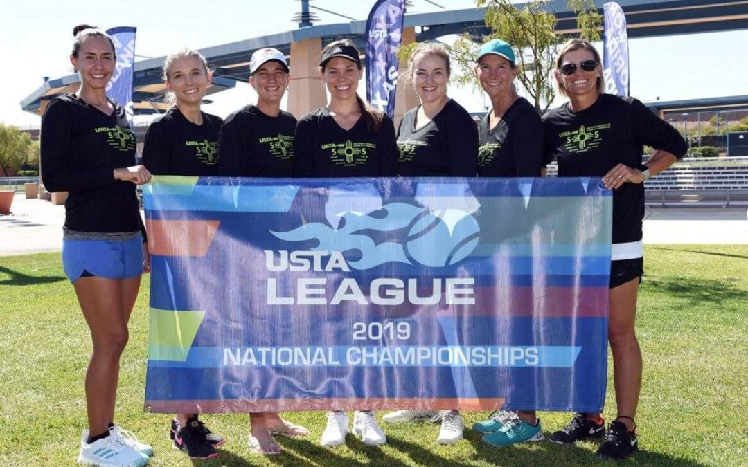 Albuquerque-area 5.0+ Women take Second Place at USTA National Championships
