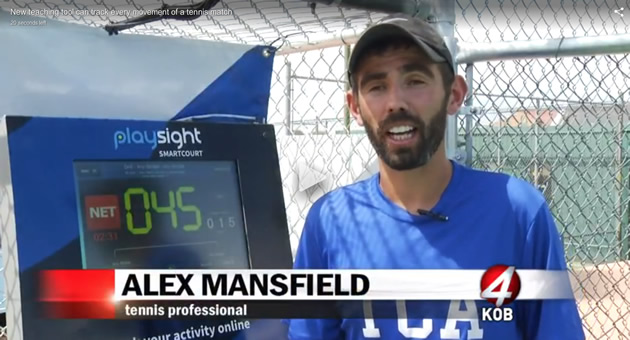 KOBTV Interviews Alex Mansfield About TCA's New PlaySight Technology