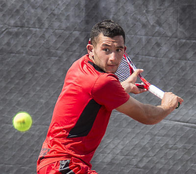 Lobo tennis player Samir Iftikhar courtesy of UNM ejohnson@abqjournal.com