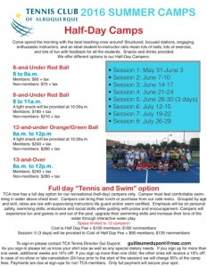 Half Day Summer Camps